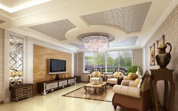 Le plafonnier avec design moderne for Ceiling designs for living room philippines