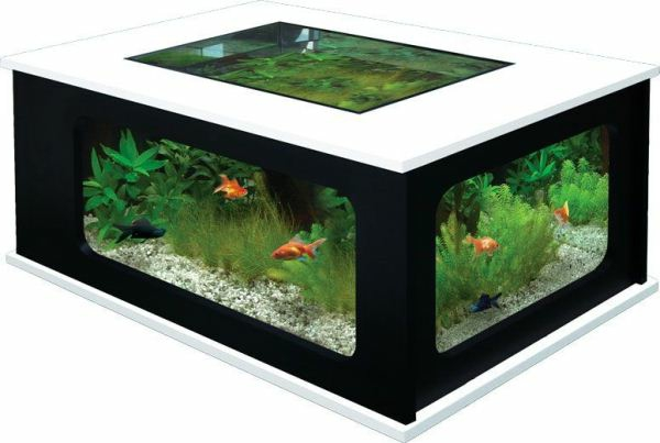 table basse aquarium design images. Black Bedroom Furniture Sets. Home Design Ideas