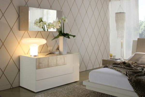 La commode coiffeuse vous offre un confort pratique - Commode chambre blanche ...