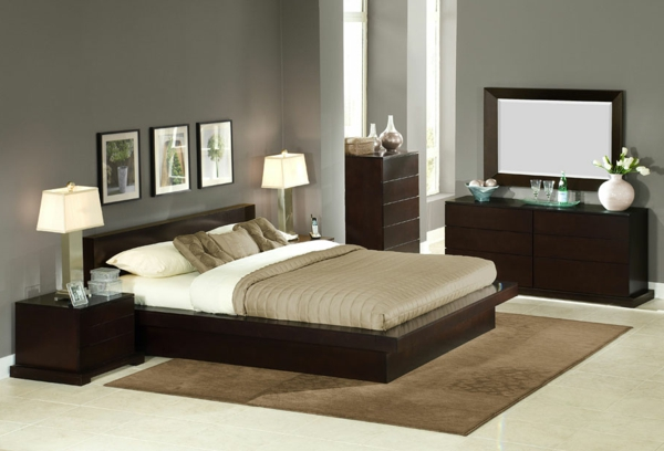 commode-coiffeuse-chambre-à-coucher-élégante