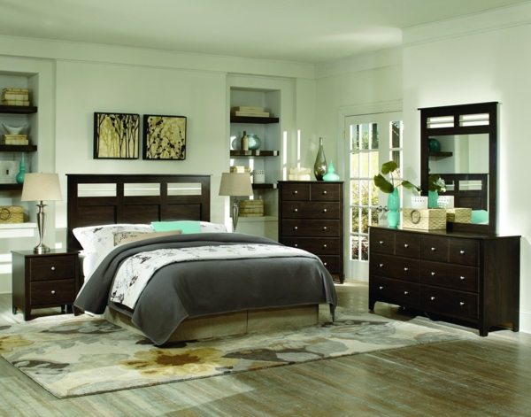 commode-coiffeuse-chambre-aux-accents-verts