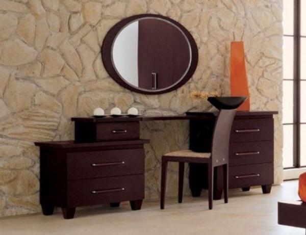 commode-coiffeuse-de-deux-parties-et-miroir-rond