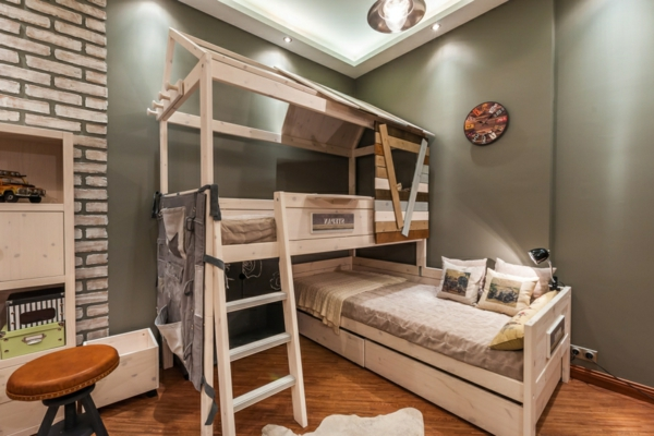 Le lit mezzanine et bureau plus d 39 espace - Lit mezzanine original adulte ...