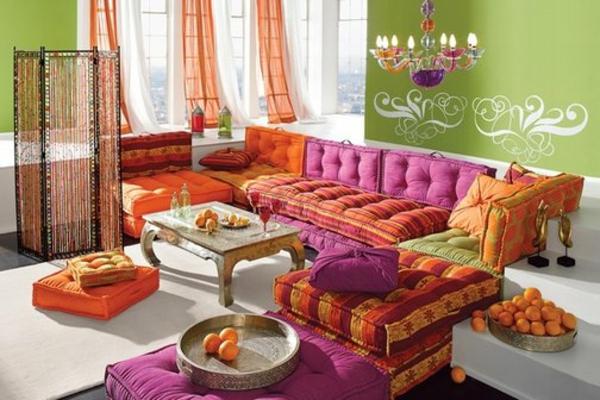 La d coration marocaine chez vous - Couleur ontwerp pour salon ...