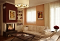 La salle de séjour en beige