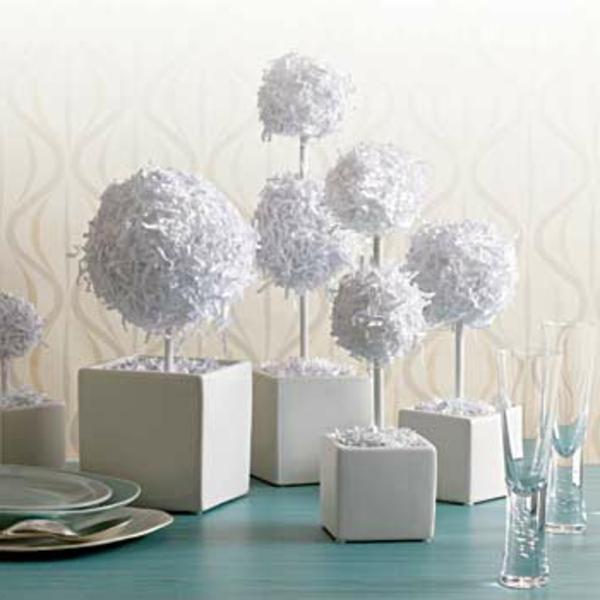déco-de-table-de-Noël-arbre-décorative