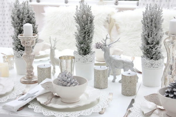 déco-de-table-de-Noël-sapin