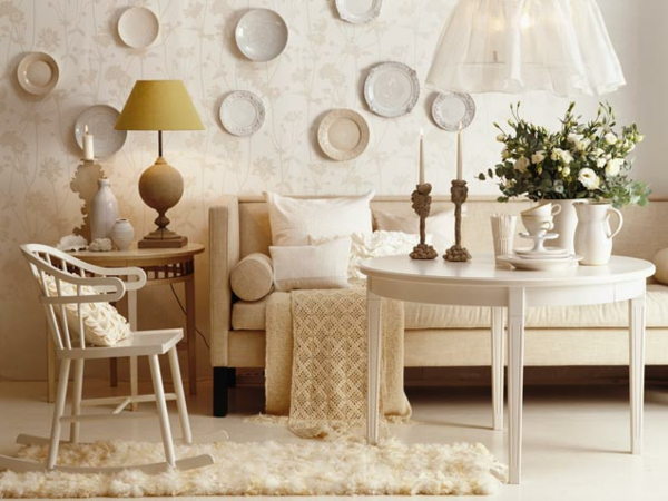 ☆ La salle de séjour en beige