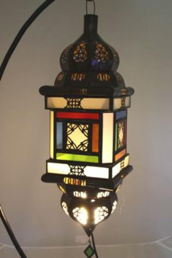 décoration-marocaine-lampe