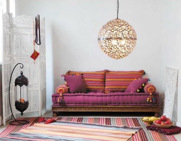 décoration-marocaine-pour-le-canapé