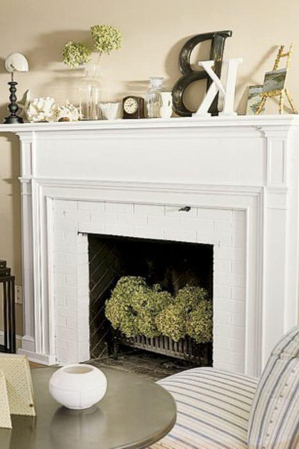 décorer-moderne-la-fausse-cheminée-décorative