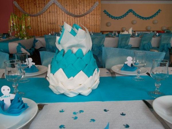 decoration-de-bapteme--gâteau