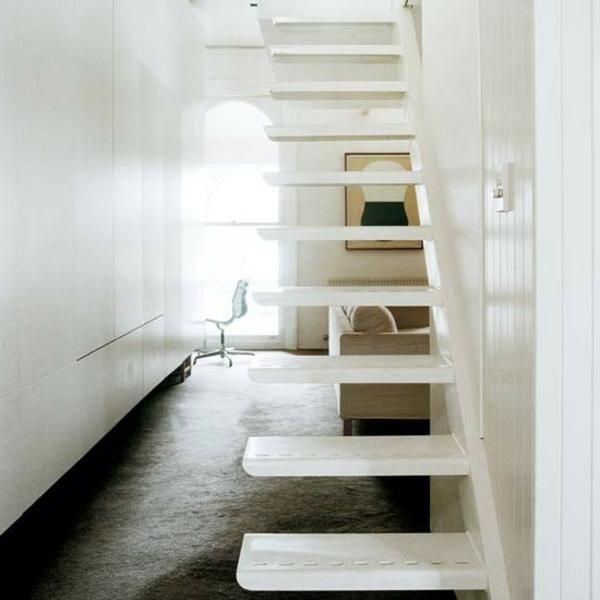 escalier-flottant-blanc