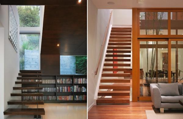 escalier-flottant-designs-en-bois