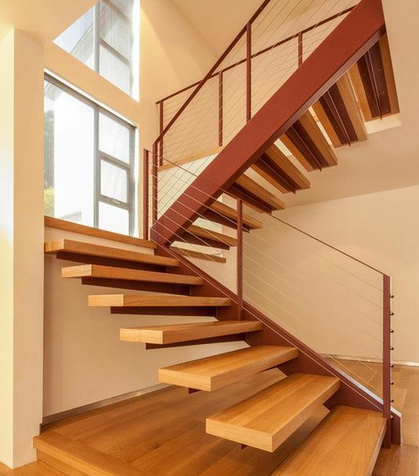 escalier-flottant-en-bois