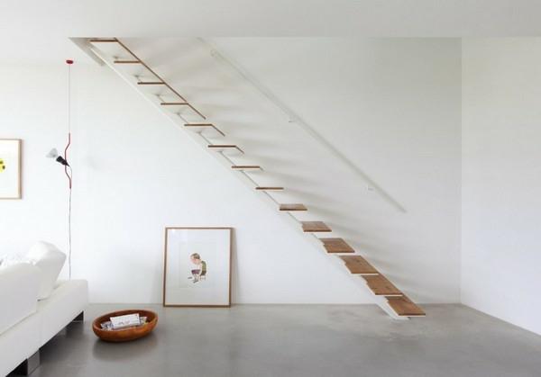 escalier-flottant-intérieur-blanc-élégant