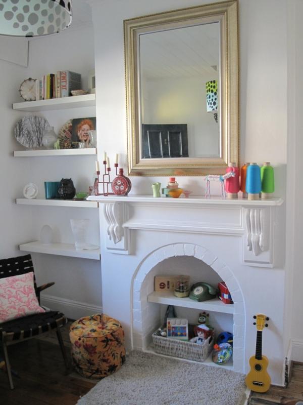 la fausse chemin e d corative cool id e. Black Bedroom Furniture Sets. Home Design Ideas