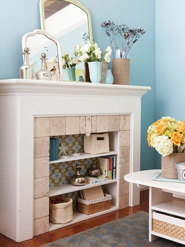fausse-cheminée-décorative-jolie