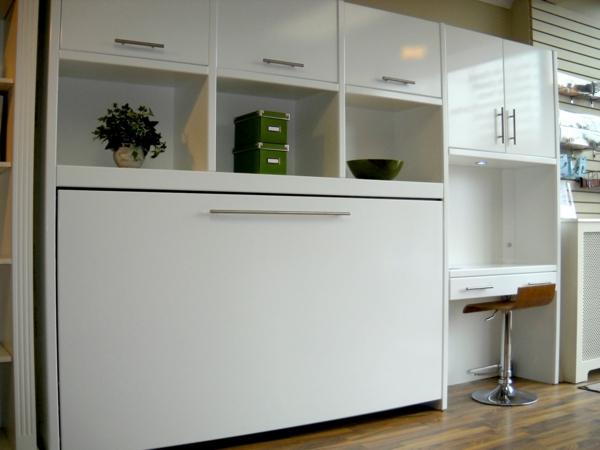 glossy-white-side-tilt-murphy-bed-showroom-resized