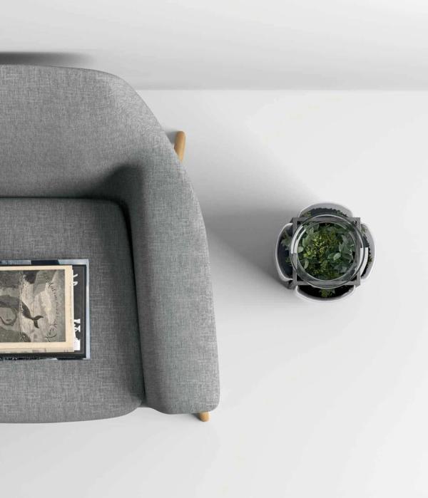 gris-fauteuil-design-pour-un-logement-contemporain