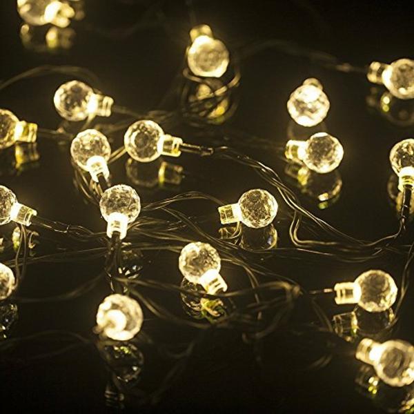 La guirlande lumineuse d 39 ext rieur c 39 est la f te chez vous for Guirlande led exterieur solaire
