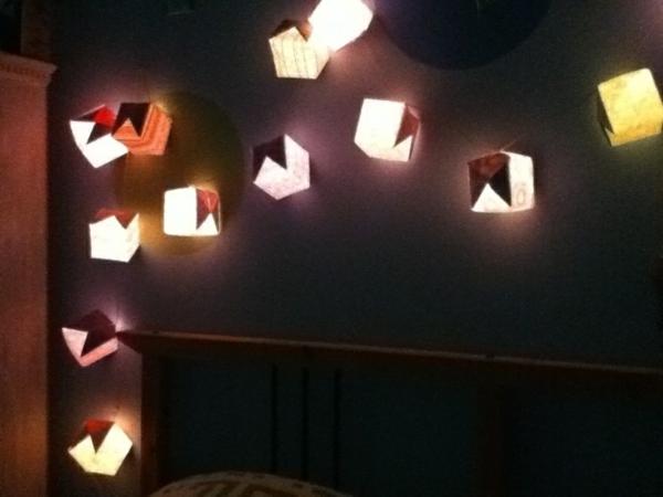 guirlande-origami-décoration-murale