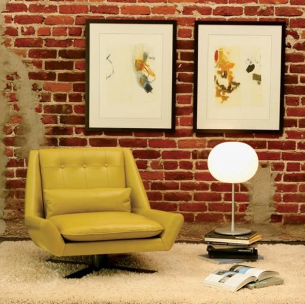 jaune-fauteuil-design-scandinave