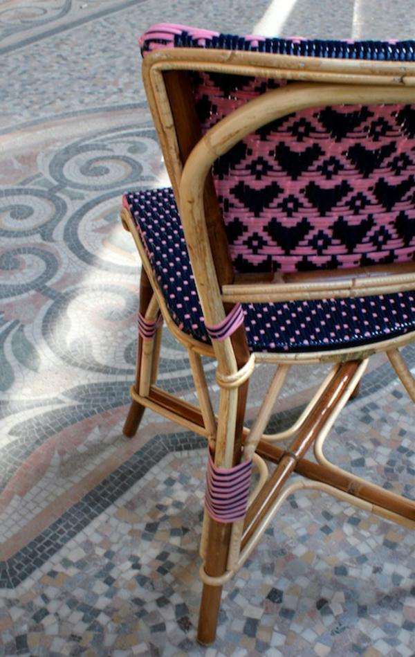 jolie-décoré-chaise