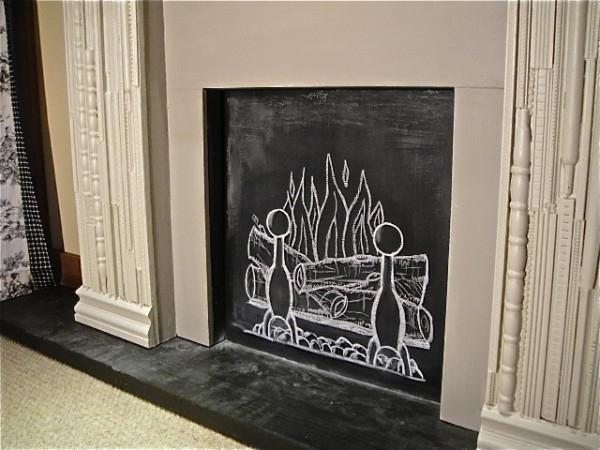 jolie-fausse-cheminée-décorative-dessin