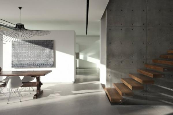 suspension-vertigo-et-escalier-moderne