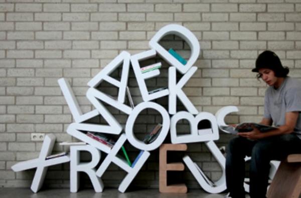 Les lettres décoratives dans lintérieur moderne  Archzine