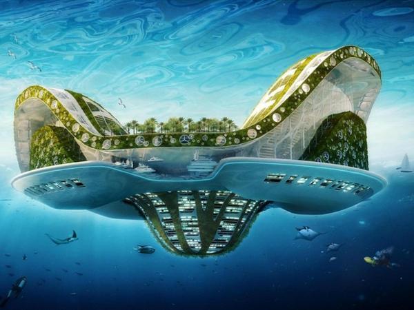 L 39 architecture utopique un autre point de vue for Architecture futuriste ecologique