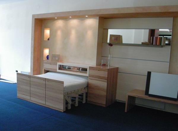 L 39 armoire lit escamotable pour plus d 39 espace - Lit armoire escamotable electrique ...