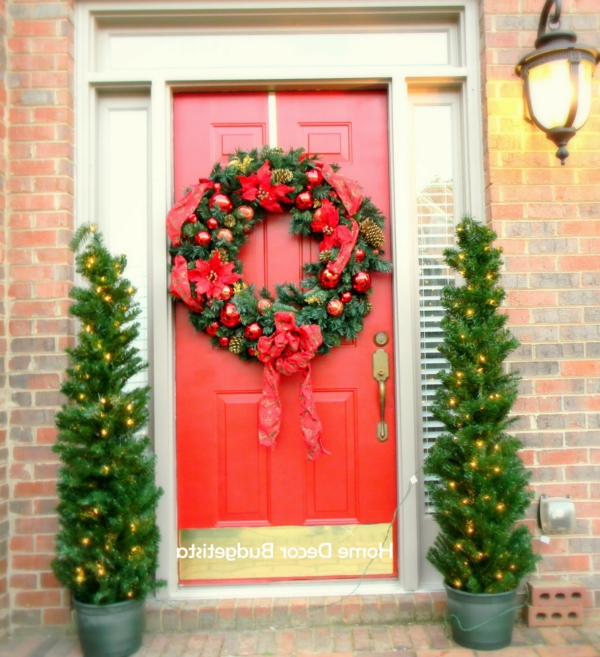 marvellous-decoration-ideas-beautiful-red-front-door-with-christmas-ornament-decoration-also-twin-christmas-tree-wonderful-door-christmas-decorating-ideasjpg-resized