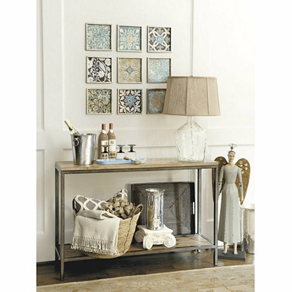 D coration console entree for Decoration d une porte d entree