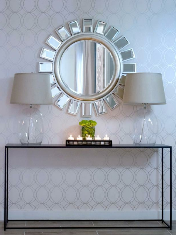 meuble-console-d' entrée-décoration-splendide