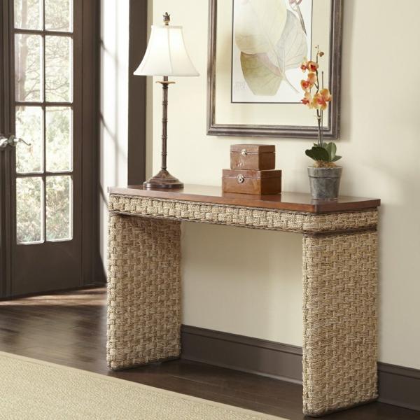 meuble-console-d' entrée-design-chaleureux