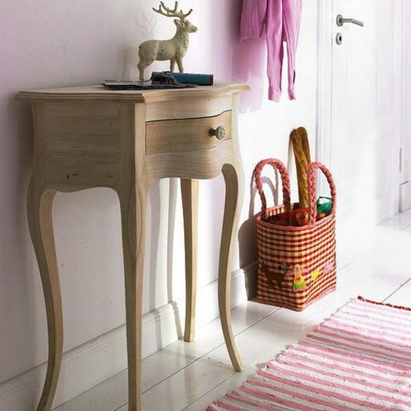 meuble-console-d' entrée-design-classique-en-bois