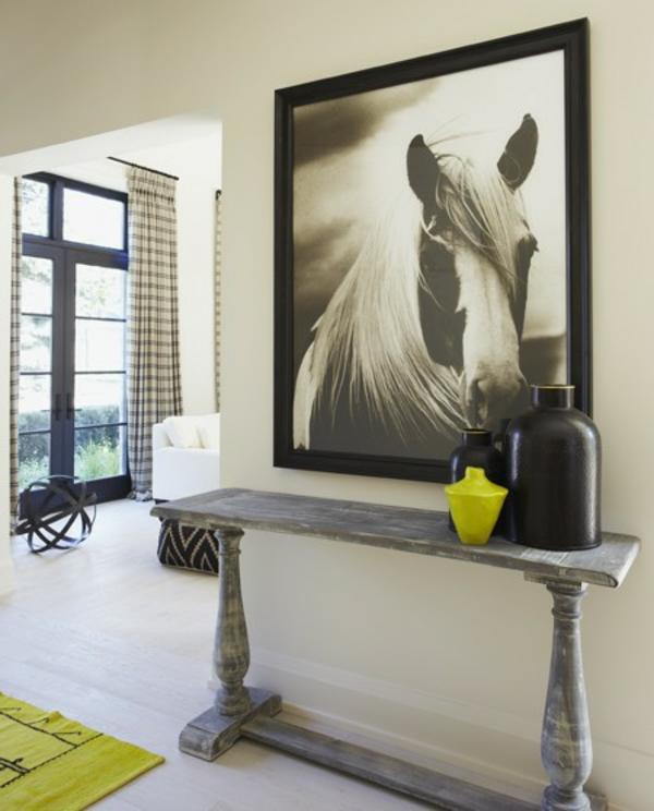 meuble-console-d' entrée-et-décoration-impressionnante