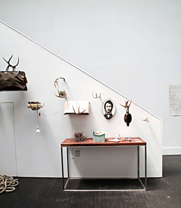 meuble-console-d' entrée-hall-d'entrée-blanc