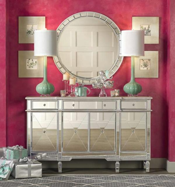 meuble-console-d' entrée-table-décorative