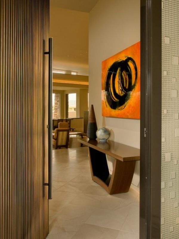 meuble-console-d' entrée-un-foyer-moderne