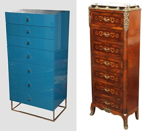 diff rents designs du meuble semainier. Black Bedroom Furniture Sets. Home Design Ideas