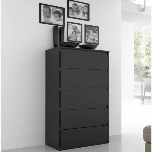 meuble-semainier-moderne-à-cing-tiroirs