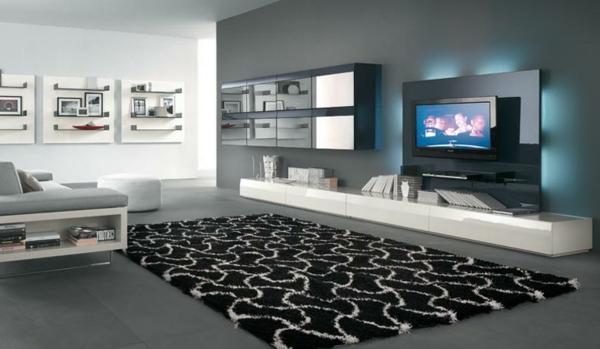 meuble-suspendu-de-salon-design-de-salle-de-séjour-exceptionnel
