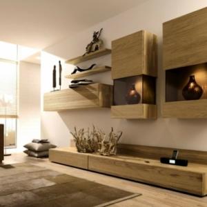 Le meuble suspendu de salon décore et modernise le salon