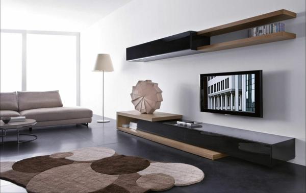 meuble-suspendu-de-salon-mobilier-mural-minimaliste