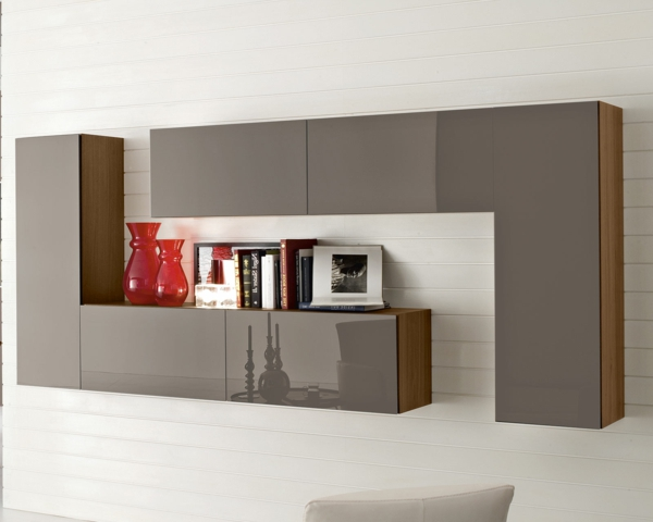 le meuble suspendu de salon d core et modernise le salon. Black Bedroom Furniture Sets. Home Design Ideas