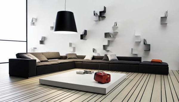 meuble-suspendu-de-salon-salle-de-séjour-magnifique-et-petites-étagères-suspendues