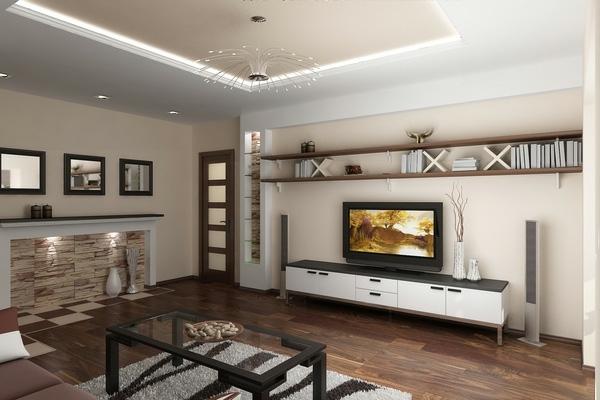 meuble-tv-vintage-intérieur-magnifique